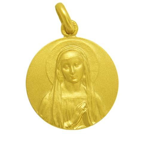 medalla ave rafael oro amarillo