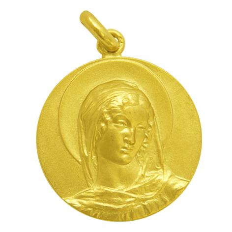 medalla ave gargallo oro amarillo
