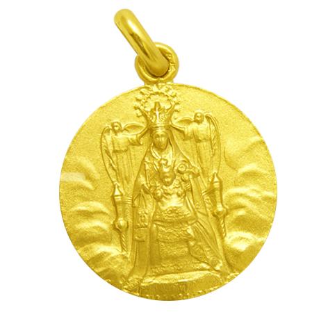 medalla nuestra señora de la merced oro amarillo