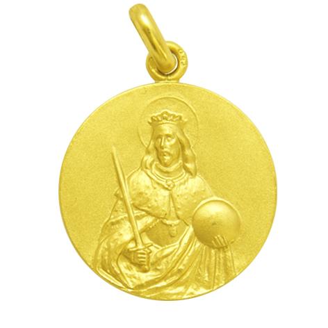 medalla san fernando oro amarillo