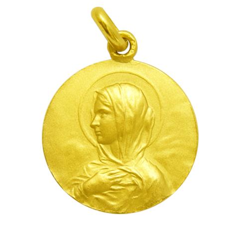 medalla ave renard oro amarillo