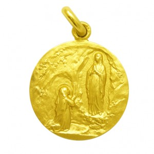 Medalla Nuestra Señora de Lourdes  M1/1/75/...
