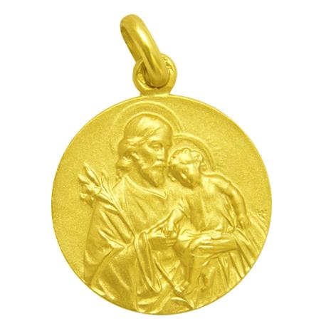 medalla san jose oro amarillo