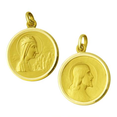 Medalla nuestra señora de montserrat / cristo salvador