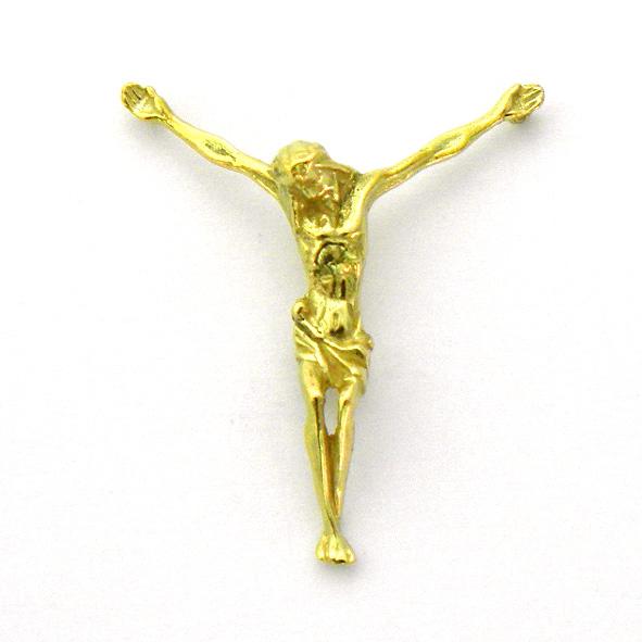 cristo modernista C1/506 oro amarillo