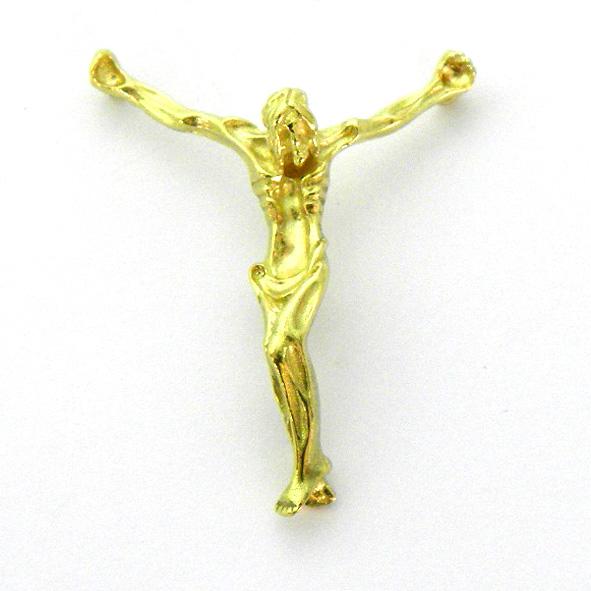 cristo modernista C1/508 oro amarillo