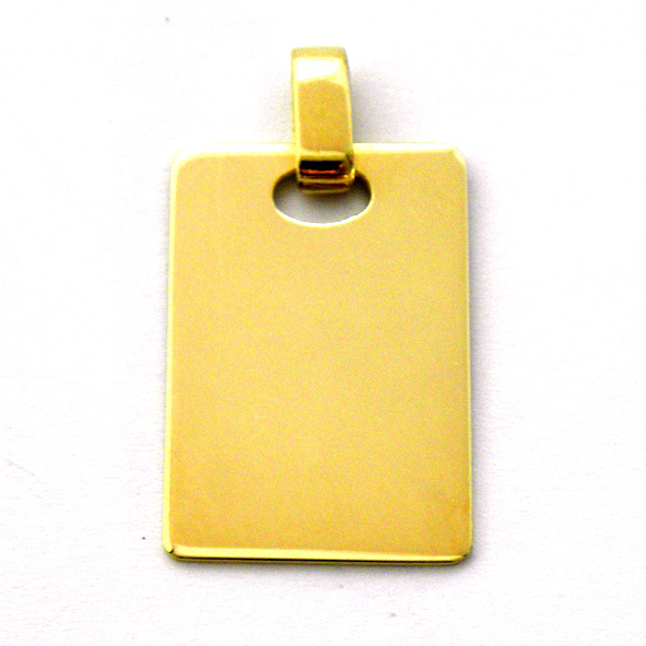 placa brillo lisa oro amarillo