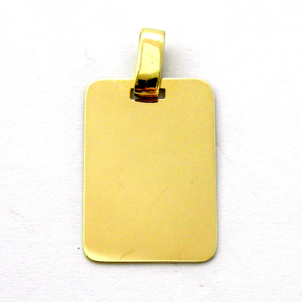 placa brillo con una cara brillo y una cara mate oro amarillo