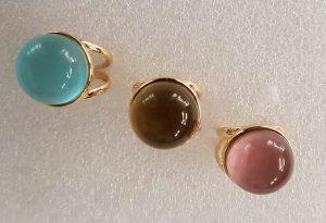 Sortijas piedras color